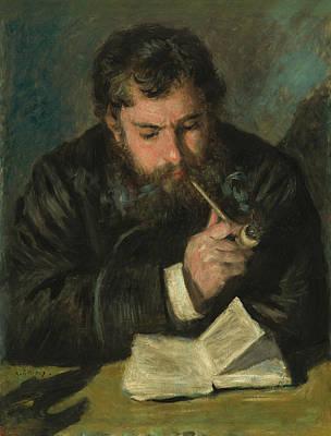 Portrait Painter Painting - Claude Monet by Auguste Renoir