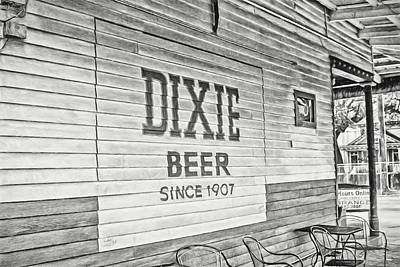 Dixie Beer Print by Scott Pellegrin