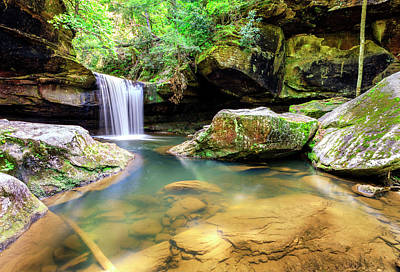 Kentucky Photograph - Dog Slaughter Falls by Alexey Stiop