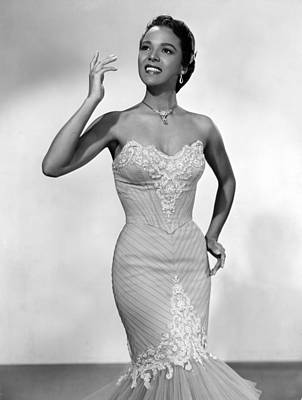 Colbw Photograph - Dorothy Dandridge, Ca. 1950s by Everett