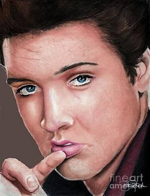 Elvis Print by Bill Richards