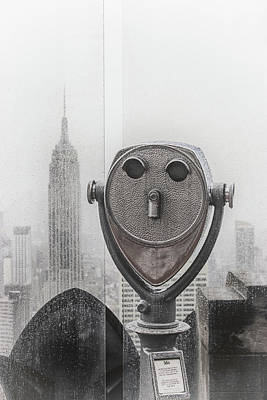 King Kong Photograph - Empire State by Martin Newman
