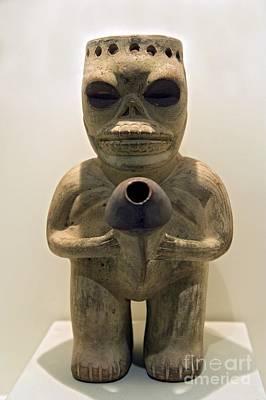 Erotic Sculpture, Moche Epoch Print by Tony Camacho