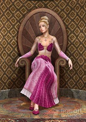 Digital Art - Fairytale Princess by Design Windmill