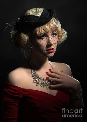 Femme Photograph - Film Noir by Amanda Elwell