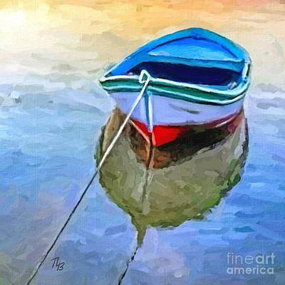 Painting - Floating by Tammy Lee Bradley