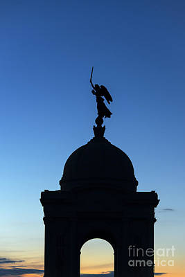 Winged Victory Photograph - Gettysburg National Military Park by John Greim