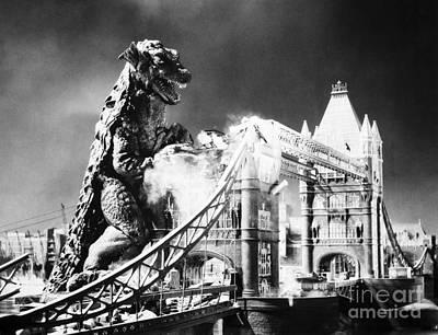 Godzilla Print by Granger
