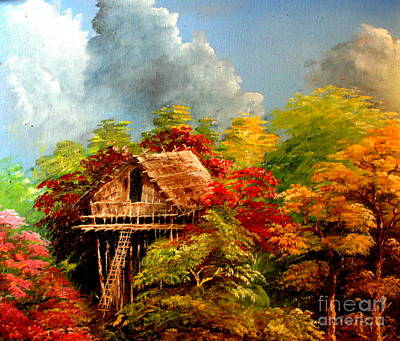 Mangrove Forest Painting - Hariet by Jason Sentuf