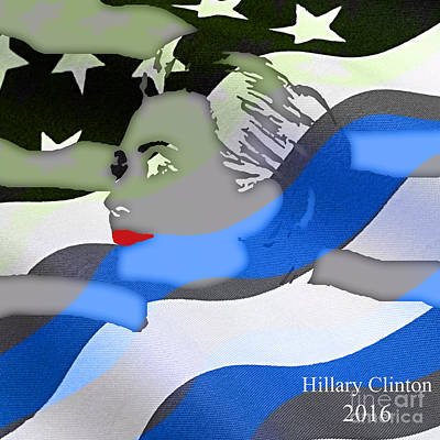 Hillary Mixed Media - Hillary Clinton 2016 Collection by Marvin Blaine