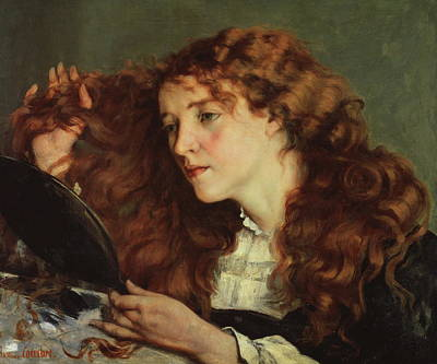 Jo, The Beautiful Irish Girl Print by Gustave Courbet