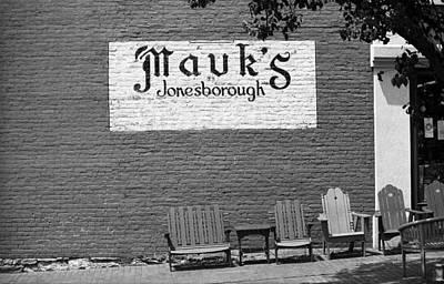 Jonesborough Tennessee - Mauk's Store Print by Frank Romeo