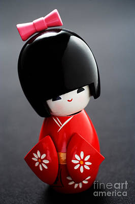Kokeshi Doll Print by Larry Dale Gordon - Printscapes