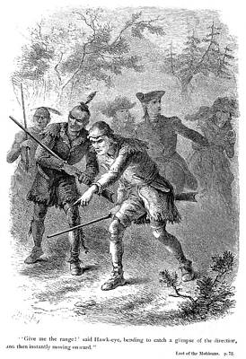 Last Of The Mohicans, 1872 Print by Granger
