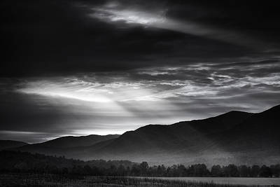 Surreal Landscape Photograph - Light From Above by Andrew Soundarajan