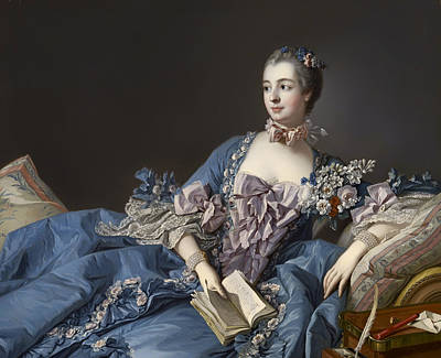 Madame De Pompadour Print by Mountain Dreams