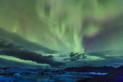 Landscape Photograph - Northern Lights by Alexey Stiop