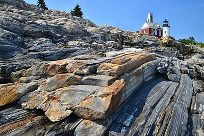 Pemaquid Lighthouse Print by Ray Mathis