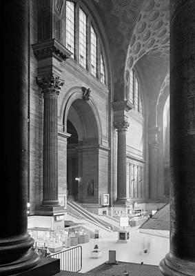 Photograph - Pennsylvania Station, Interior, New by Everett