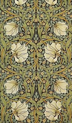 Pimpernel Print by William Morris