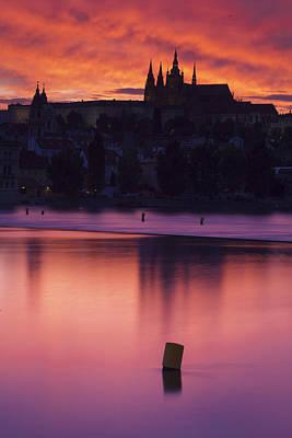 Prague Castle Print by Andre Goncalves