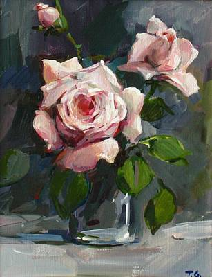Roses Print by Tigran Ghulyan