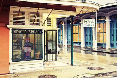 South Louisiana Photograph - Royal Pharmacy by Scott Pellegrin