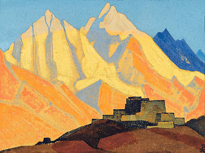 Russia Painting - Sacred Himalayas by Nicholas Roerich