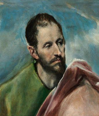 Saint James The Younger Print by El Greco