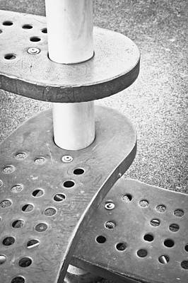 Abstract Photograph - Steps by Tom Gowanlock