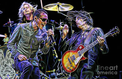 Stone Temple Pilots Collection Print by Marvin Blaine