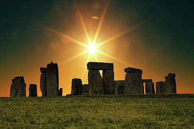 Stonehenge Print by Martin Newman