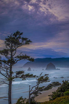 Vertical Photograph - Storm Rolling In by Andrew Soundarajan