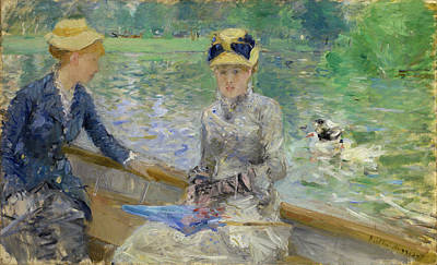 Women Painting - Summer's Day by Berthe Morisot