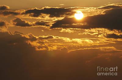 Sunset Print by Michal Boubin