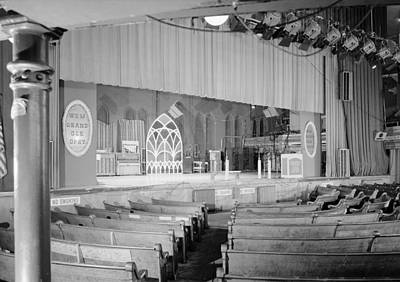 The Grand Ole Opry, Circa 1960s Print by Everett