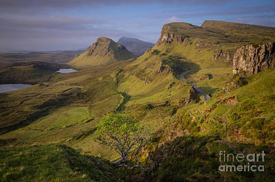 Scotland Photograph - The Quiraing by Stephen Smith