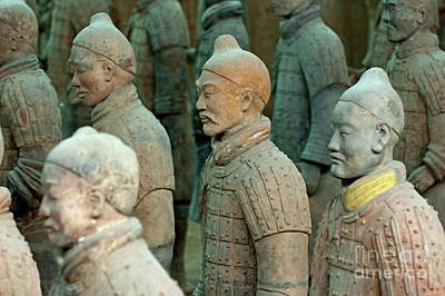 Qin Shi Huang Photograph - The Terracotta Army by Sami Sarkis