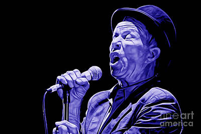 Jazz Mixed Media - Tom Waits Collection by Marvin Blaine