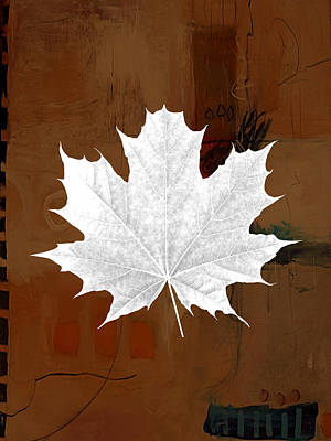 Tree Leaf Art Print by Marvin Blaine