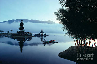 Ulu Danu Temple Print by William Waterfall - Printscapes