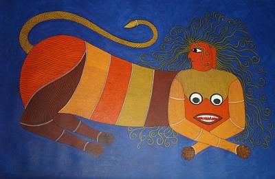 Gond Painting - Untitled by Bhajju Shyam