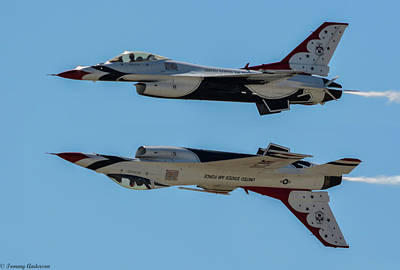 Photograph - Usaf Thunderbirds by Tommy Anderson