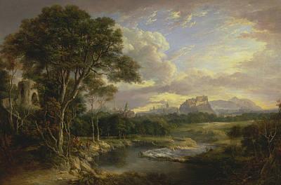Alexander Nasmyth Painting - View Of The City Of Edinburgh by Alexander Nasmyth