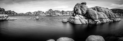 Watson Lake Print by Jon Manjeot