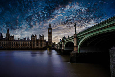 Mp Photograph - Westminster Bridge by Martin Newman