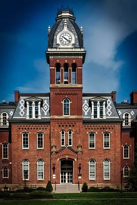 Woodburn Hall - West Virginia University Print by Mountain Dreams