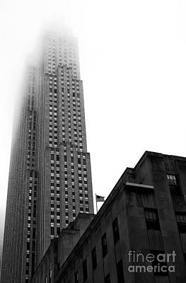 Architecture Photograph - 30 Rock by John Rizzuto