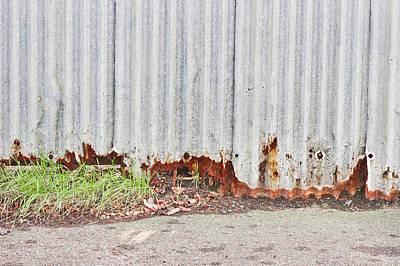 Rusty Metal Print by Tom Gowanlock