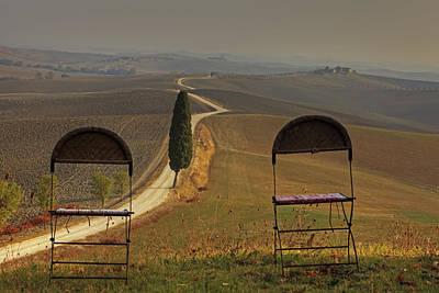 Cottage Chairs Photograph - Tuscany by Joana Kruse